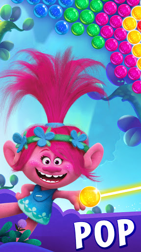 DreamWorks Trolls Pop: Bubble Shooter & Collection  screenshots 1
