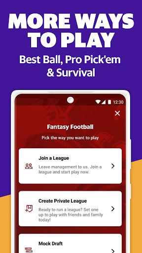 Yahoo Fantasy Sports: Football, Daily Games & More android2mod screenshots 5