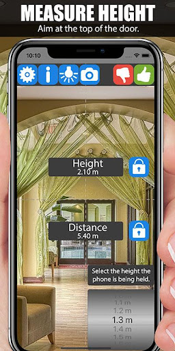 Distance Laser Meter screenshots 2