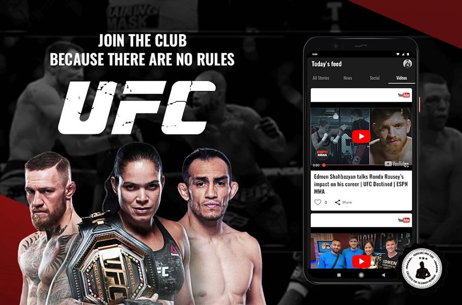 MMA Fans: News Videos & Memes for UFC MMA Bktv One