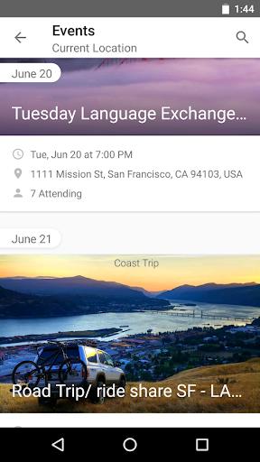 Couchsurfing Travel App  Screenshots 4