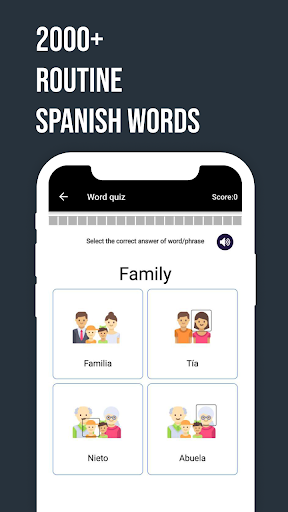 Listen & Learn Spanish from English android2mod screenshots 2