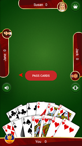 Hearts - Card Game android2mod screenshots 7