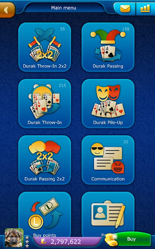 Durak LiveGames - free online card game  screenshots 15