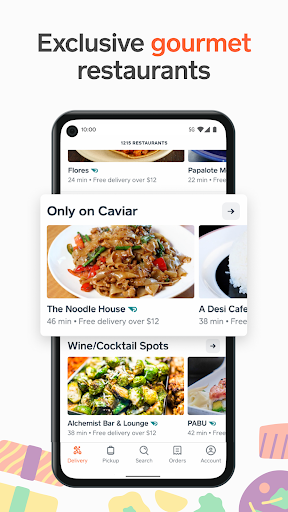 Caviar: Local Restaurants, Food Delivery & Takeout  screenshots 4