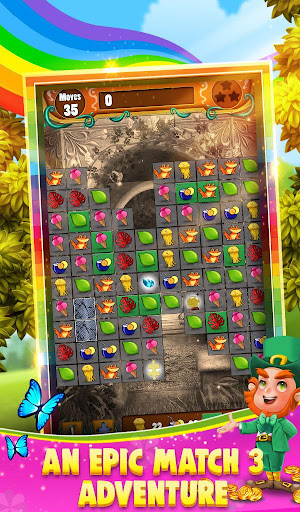 Match 3 - Rainbow Riches  screenshots 1