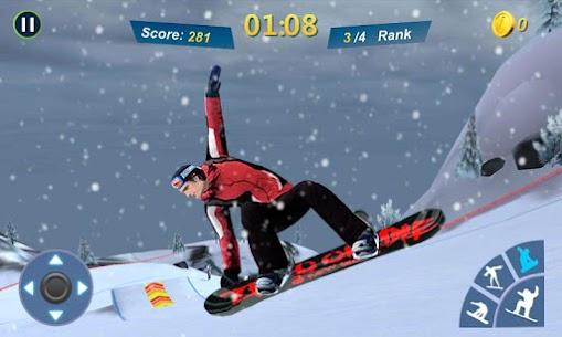 Snowboard Master 3D MOD (Unlimited Money) 4