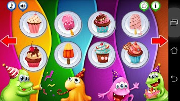 Puzzles for kids. Sweets cake