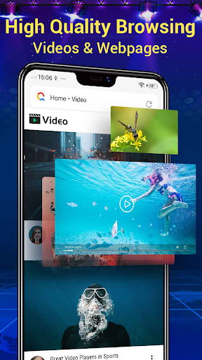 Web Browser & Fast Explorer android2mod screenshots 3