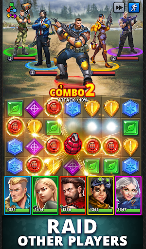 Puzzle Combat: Match-3 RPG android2mod screenshots 22