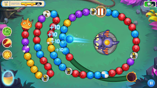 Jungle Marble Blast 3 1.0.9 screenshots 2