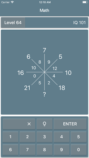 Math Riddles: IQ Test  screenshots 5