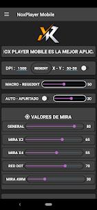 MacroNox Mobile – Regedit FF – Acelerar DPI 3