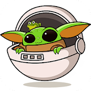 Baby Yoda Stickers for WhatsApp - WAStickerApps