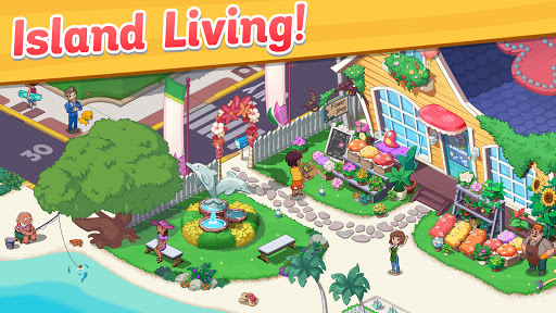 Ohana Island - Design Flower Shop & Blast Puzzle apkslow screenshots 5