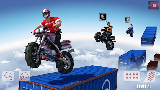 Dirt Bike Roof Top Racing Motocross ATV race games 9