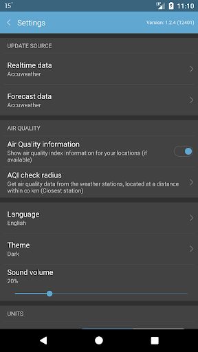 Weather Mate (Weather M8) 1.6.7 Screenshots 8