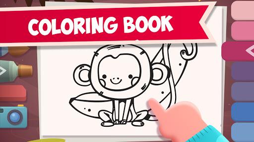 Сoloring Book for Kids with Koala  screenshots 1