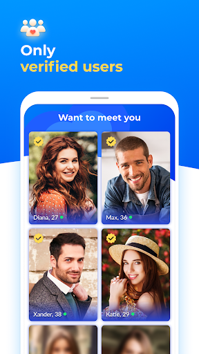 Dating with singles nearby - iHappy 1.0.47 Screenshots 2