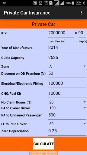 Motor Insurance Calculator android2mod screenshots 4