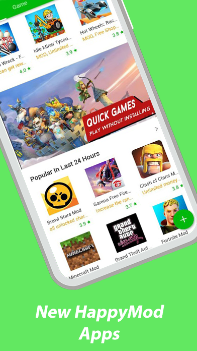 HappyMod : New Happy Apps And Guide For Happymod poster 0