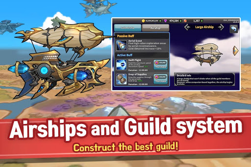 Raid the Dungeon : Idle RPG Heroes AFK or Tap Tap Apkfinish screenshots 6