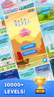Word Blast: Fun Connect & Collect Free Word Games