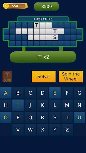 word fortune - wheel of phrases quiz screenshot 2