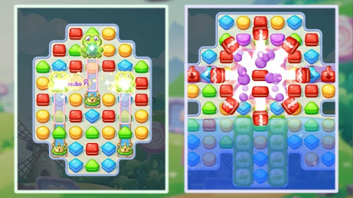 Sweet Macaron : Match 3 apkslow screenshots 10