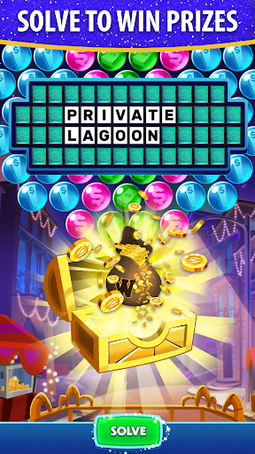 Bubble Pop: Wheel of Fortune! Puzzle Word Shooter  screenshots 3