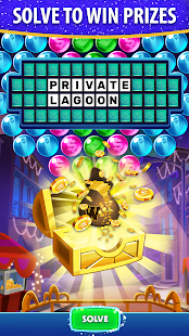 Bubble Pop: Wheel of Fortune! Puzzle Word Shooter Apkfinish screenshots 3