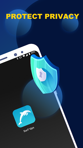 Surf - Free VPN for Tiktok, Cutout & Keyboard android2mod screenshots 7
