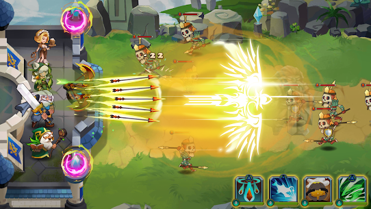Castle Defender: Hero Idle Defense TD 1.8.2 Apk + Mod 4