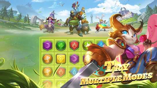 War and Wit Mod Apk: Heroes Match 3 (Unlimited Skills) 4