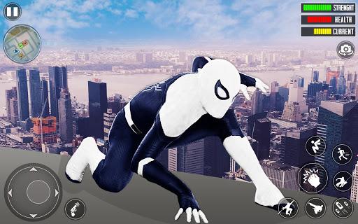 Spider Rope Hero 3D: Gangstar Vegas Crime apkslow screenshots 11