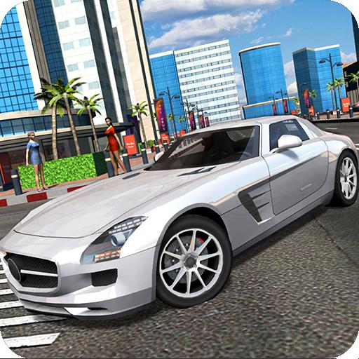 Luxury Supercar Simulator Icon
