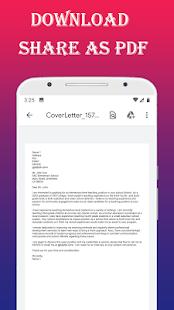 Cover Letter maker for Resume