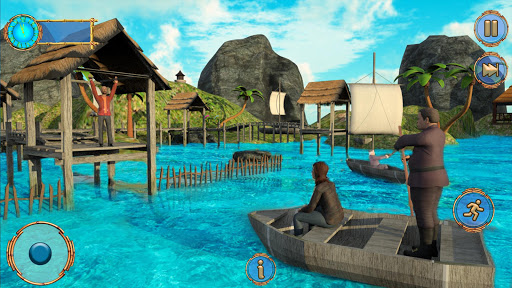 Raft Survival Ocean-Explore Underwater World Games android2mod screenshots 8