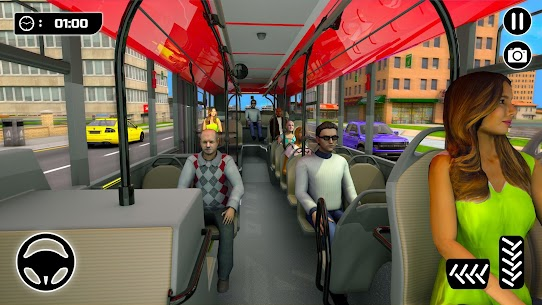 Şehir Otobüs Sürme Simülatör: Otobüs Oyunları 2021Full Apk İndir 2
