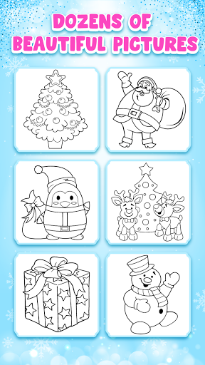 Christmas Coloring Game - Learn Colors  screenshots 5
