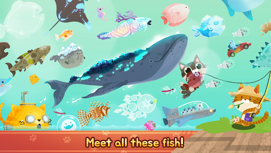 The Fishercat Mod Apk 4.1.2 (Lots of Gold Coins and Gears) 6