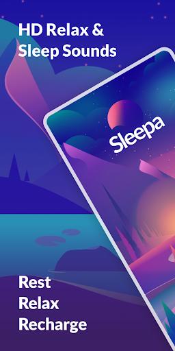 Sleepa: Relaxing sounds, Sleep android2mod screenshots 1