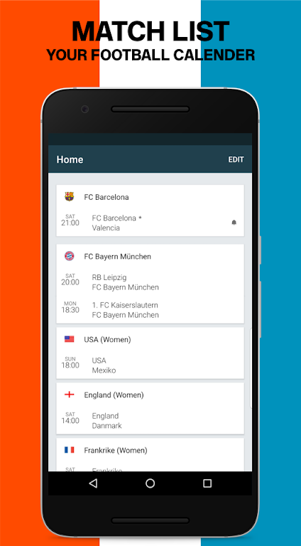 Forza Football - Live soccer scores  poster 1