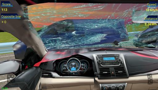 Traffic Racing in Car 1.0 screenshots 1