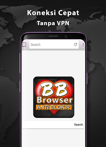 BF-Brokep Browser Anti Blokir - VPN Browser  Screenshots 3