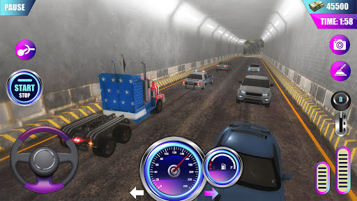 American Truck Driver Simulator- Cargo Truck Game  screenshots 3