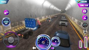 American Truck Driver Simulator- Cargo Truck Game