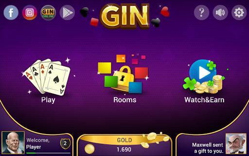 Gin Rummy - Offline Free Card Games 1.4.1 Screenshots 24