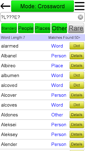Crossword Solver 5.2 screenshots 1