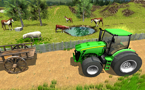 Village Tractor Driver 3D Farming Game 2